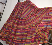 Rainbow Lurex Skirt Pink 32 Yards