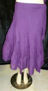 Beautiful Half Wrap Skirt Purple