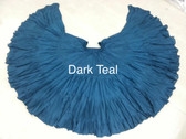 32 Yard Pure Cotton Skirt Dark Teal