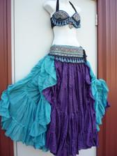 Gorgeous Turquoise Violet Ensemble
