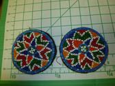 Identical Pair of Kuchi Medallions called Guls 4