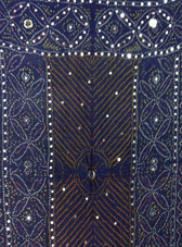 Brilliant  Banjara Veil with Sequins and Cowrie Shells! #2