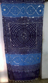 Brilliant  Banjara Veil with Sequins and Cowrie Shells! #3