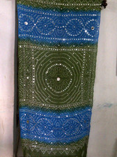 Brilliant  Banjara Veil with Sequins and Cowrie Shells! #6