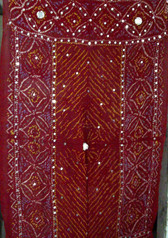 Brilliant  Banjara Veil with Sequins and Cowrie Shells! #8