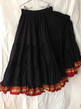 Charming Black Aishwarya Skirt