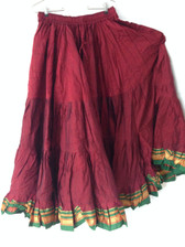 Marvelous Maroon Aishwarya Skirt