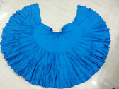 32 Yard Pure Cotton Skirt Turquoise