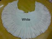 32 Yard Pure Cotton Skirt, White
