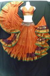 Beautiful Embroidered Aishwarya Skirt Peachy Keen