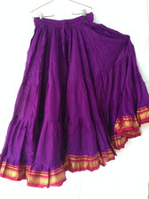 Pretty Purple Aishwarya Skirt