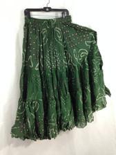 25 Yd JAIPUR SKIRT ATS Green Swirl