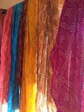 Dupattas - Brightly Colored Scarves Jaipur