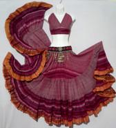Striped Aishwarya Skirt Pretty in Pink