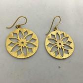 Beautiful Brass Earrings #13
