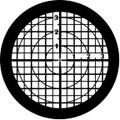 Rosco Standard Steel Gobo 77888 - Line Up Grid