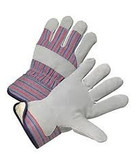 Leather palm gloves (fleece lined )12ct pack