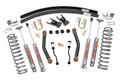 "1984 - 2002 Jeep XJ Cherokee 4.5"" Suspension Part #: 623N2 (Add a Leaf) With Sye Kit & CV Driveshaft."