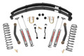 "1984 - 2002 Jeep XJ Cherokee 4.5"" Suspension Part #: 633N2 (With Full Leafs) Sye Kit and CV Driveshaft."