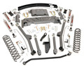 """Rough Country 4 1/2"""" Long Arm Kit [with Add a Leafs]"""