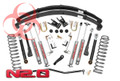 "1984-2001 Jeep XJ Cherokee 6.5"" Rough Country Suspension X-Series Part #696N2 with SYE Kit and Rear CV Driveshaft"