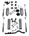 "2007 - 2013 Jeep JK Wrangler 4"" Teraflex 4 Door Lift Kit Part # 1251400 With Shocks & Custom Made Rock Crawler 1310 Front CV Driveshaft"