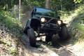 "1997 - 2006 Jeep TJ Wrangler 4"" Rough Country Long Arm Suspension Lift Kit Part # 66322, New Rough Trail Sye Kit & Custom Made Rock Crawler 1310 CV Driveshaft"