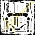 "2007 And Up Jeep JK Wrangler 3.5"" Rock Krawler 2 Door X Factor Long Arm Stretch System"