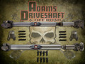ADAMS DRIVESHAFT JL FRONT & REAR 1310 CV DRIVESHAFT PACKAGE with SOLID U-joints [EXTREME DUTY SERIES]