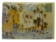 Caribbean Christmas cards by artist Jill Walker