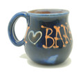 Tankard Blue with I Love You Barbados