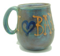 Super Tankard Green with I Love You Barbados