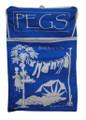 Peg Bag Light Blue