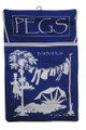 Peg Bag Dark Blue