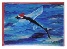 Santa flyingfish in Barbados.
