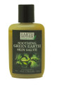 A soothing green earth skin salve made in Barbados