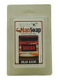 """Bacon, bacon bacon! Bathing with this delicious handmade soap will give you the olfactory pleasure of bacon without the calories! 100% natural, handmade glycerine soap. Soap size: 2""""w x 3"""" h x 1""""d Check out our Bacon Candles in Tabletop!"""