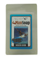 """Featuring Che Slate Allan the Caribbean under 16 surfing champion and leading Bajan surfing teen! A 100% natural, glycerine handmade soap for a vigorous, foamy shower! Soap size: 2""""w x 3"""" h x 1""""d"""