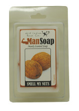 """Sure to make you laugh… A fun handmade soap with a coconut scent! Soap size: 2""""w x 3"""" h x 1""""d"""