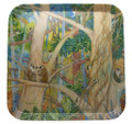 Melamine tray with the Monkeys in a Gully design.