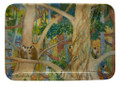 Melamine dish with the Monkeys in a Gully design.