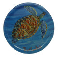 Melamine Coaster with turtle design.