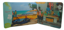Set/2 placemats with Barbados scenes