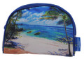 A Barbados souvenir purse for your essentials or cosmetics.