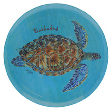 Large melamine turtle tray.