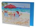 Santa's Barbados holiday card.