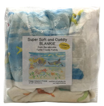 A super soft blankie that kids will love!