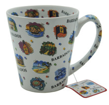 Mug with images of Barbados all over it!