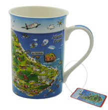 Bone china Barbados Mug
