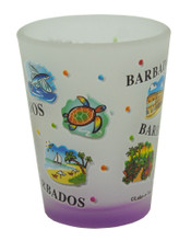 Shot Glass - Barbados Expressions purple base